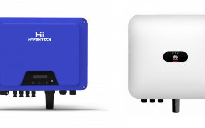 Napelem inverter összehasonlítás: 10 kW Huawei-Hypontech?